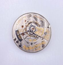1908 Elgin 18s 21j Double Sunk Dial Pocket Watch Movement 349/7 #13255570 Of