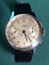 TAVANNES Vintage Orologio Cronograph Watch Co Movimento Venus 175 Diametro 34 mm