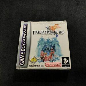 Nintendo Game Boy Advance Final Fantasy Tactics Advance EUR Très Bon état