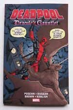 Deadpool Dracula's Gauntlet Marvel Graphic Novel Comic Book