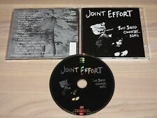 JOINT EFFORT CD - TWO SIDED COUNTRY BLUES / WORLD IN SOUND IN MINT