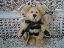 "Boyds Bibi Buzzby 5"" Retired Angel Bee Bear Ornament *New Store Stock*"