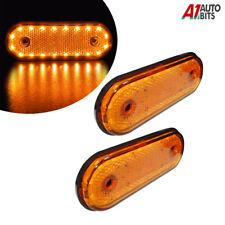 2x 20 Led Side Marker Indicator Lights Lamp Caravan Truck Trailer Lorry 12v