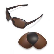 New Walleva Polarized Brown Lenses For Oakley Pulse Sunglasses
