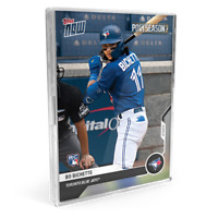 Nate Pearson from 2020 Toronto Blue Jays TOPPS NOW® Postseason 10-Card Team Set