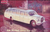 "Roden 724 - Opel Blitz Ludewig "" Aero ""  - 1/72 scale model airplane kit 116 mm"