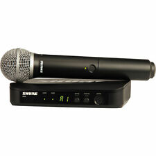 Shure BLX24/PG58 mint Pro Handheld Wireless Microphone System w/ PG58 mic