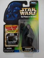 1997 Star Wars POTF Garindan W/ Pistol Freeze Frame Action Slide Action Figure
