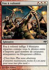 *MRM* FR 4x feu a volonté - Fire at will MTG Eventide