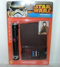 Star Wars Jedi Knight Childrens Accessory Set - Cloak, Belt & Lightsaber - NIP