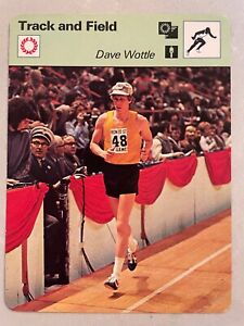 1978 Sportscaster Track and Field Card        Dave Wottle