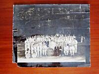 Proctor Vermont Band 1885 Photograph Black & White Photo MSJ Majorette (Rutland)