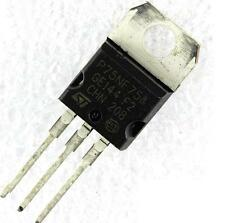 10 x STP75NF75 P75NF75 ST Mosfet TO-220 NEW GOOD QUALITY
