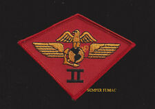 2ND MARINE AIR WING MAW HAT PATCH MCAS NEW RIVER CHERRY POINT PIN UP US MARINES