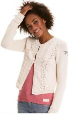 NWT Odd Molly Knitted Short Open Cardigan w/Pockets Style #21125