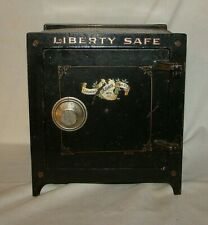 Antique Liberty Safe Salesman Sample Size Combination Safe By The Lazarus Mfg Co