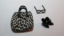 Barbie Silkstone Dusk to Dawn Sunglasses, Shoes and Bag