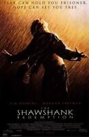 The Shawshank Redemption Movie POSTER 11 x 17 Tim Robbins, Morgan Freeman, A