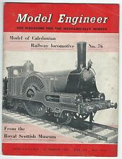 Model Engineer March 1957 Vol.116 No.2913 Percival Marshall & Co Ltd Good-