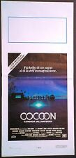 Locandina COCOON 1985 RON HOWARD DON AMECHE WILFORD BRIMLEY HUME CRONYN 20 C.FOX