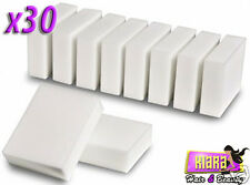 30 Pack Magic Cleaning Sponge Melamine Foam Eraser Stain Dirt  Remover Pad UK