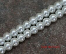 Wholesale Lots 23 Colors Loose Round Glass Pearl Spacer Beads 4/6/8/10mm