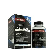HighT™ High T Black Hardcore Formula + Nitric Oxide, 152 Capsules - BONUS SIZE