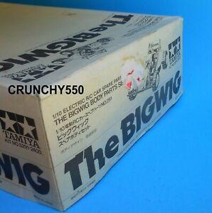 Vintage Tamiya The Bigwig Body Parts Set 50291 Big Wig 1986 RC Part