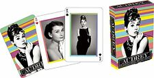 AUDREY HEPBURN - PLAYING CARD DECK - 52 CARDS NEW - MARVEL MOVIE 52292