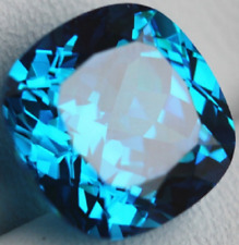 Unheated Ceylon Blue Sapphire - 8.71 Carats  - CUSHION SHAPE