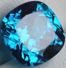 Unheated Ceylon Blue Sapphire - 8.71 Carats  - CUSHION SHAPE