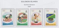 Solomon Islands Summer Olympics set 2004 UM