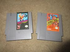 nintendo donkey kong and exciebike games untested