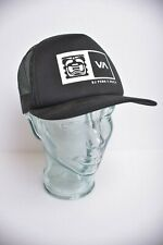 VA RVCA BJ Penn MMA Fighter Black Mesh Snapback Trucker Hat adult OS