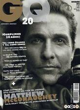GQ Magazine Spain Espana Spanish,November 2014,Matthew McConaughey NEW