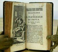 Breve Ristre & Francesco Di Paola by Giulio Casale. 14 Copper plts Scarce 1728