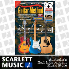 Progressive 54048 GUITAR METHOD for Beginners Book 1 (One/First) w/ Online Media