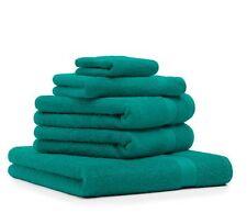 "Set di 5 asciugamani ""Premium"", colore: verde smeraldo"