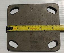 Weld On Caster Wheel Plate