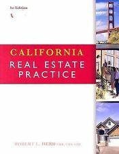California Real Estate Practice 1st Edition by Robert L. Herd sc