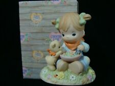 Precious Moments-Country Lane Collection-Peas Pass The Carrots-Retired 2000