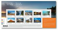 FROM FAR AND WIDE = High Value SS of 9 stamps. MNH Canada 2019 #3138