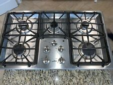 """GE profile Series 36"""" Built-In Gas Cooktop PGP966SET5SS"""