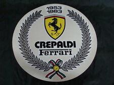 ADESIVO FERRARI CONCESSIONARIA  AUTO EPOCA F 40 250 SWB 512 BB 308 GTO