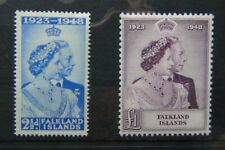 Falkland Islands 1948 Royal Silver Wedding set MM