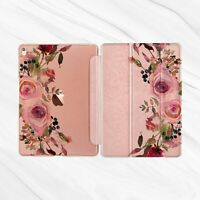 Floral Girly Flower Rose Gold Case For iPad Pro 10.5 10.2 9.7 Air Mini 2 3 4 5