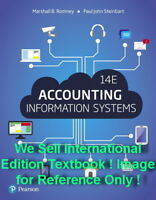 NEW Accounting Information Systems 14E Romney Steinbart 14th Paperback Edition