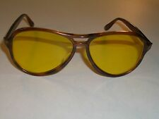 58mm VINTAGE B&L RAY BAN YELLOW KALICHROME TRADITIONALS VAGABOND SUNGLASSES