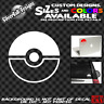 Pokemon Pokeball Custom Vinyl sticker NES Laptop Car Window Wii Nintendo Pikachu