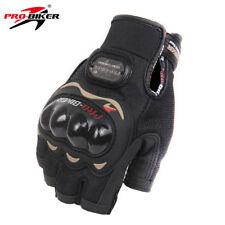 Pro-Biker Half Finger Motorcycle Gloves Motorbike Moto Racing Protective Gear